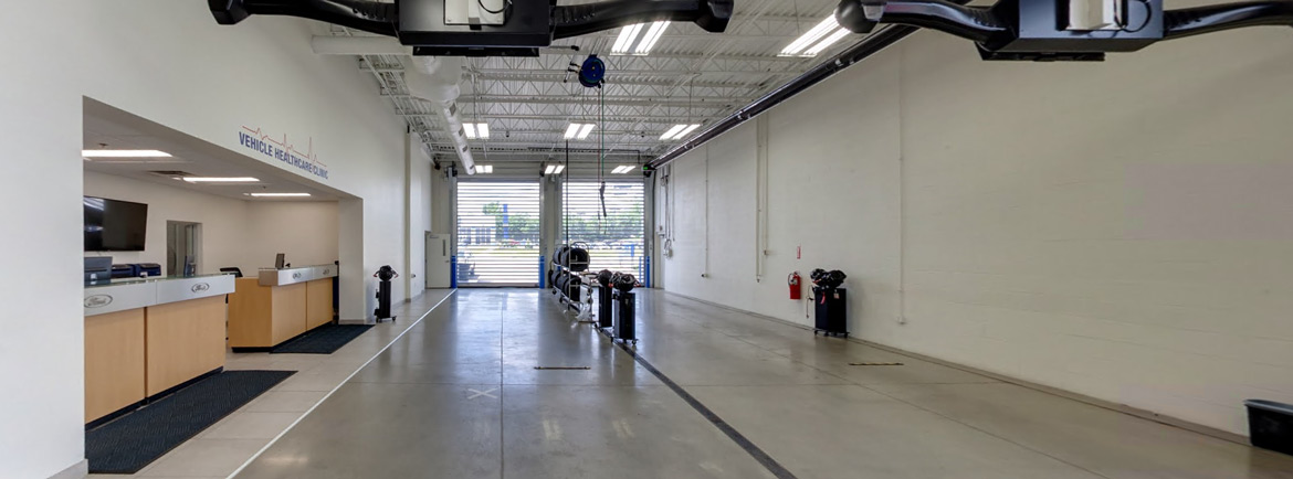 Quick Service Bay at Bob Swope Ford