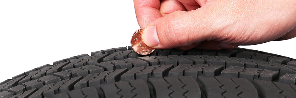 Tire Penny Test at Bob Swope Ford