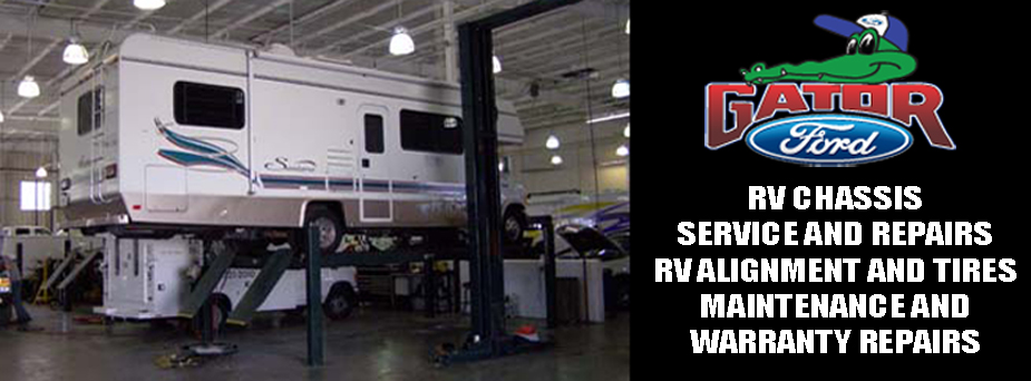 Motorhome and rv service center for Ford motor credit tampa