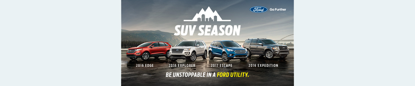SUV Season Ford